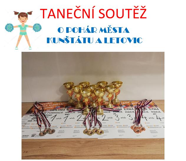 Taneční soutěž O pohár města Kunštátu a Letovic