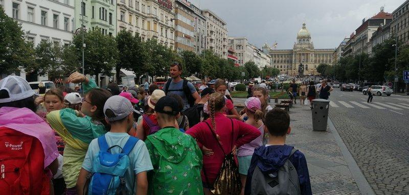 Výlet 4. tříd do Prahy
